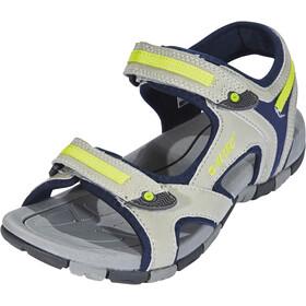 Hi-Tec GT Strap Sandali Bambino, cool grey/majolica blue/limoncello
